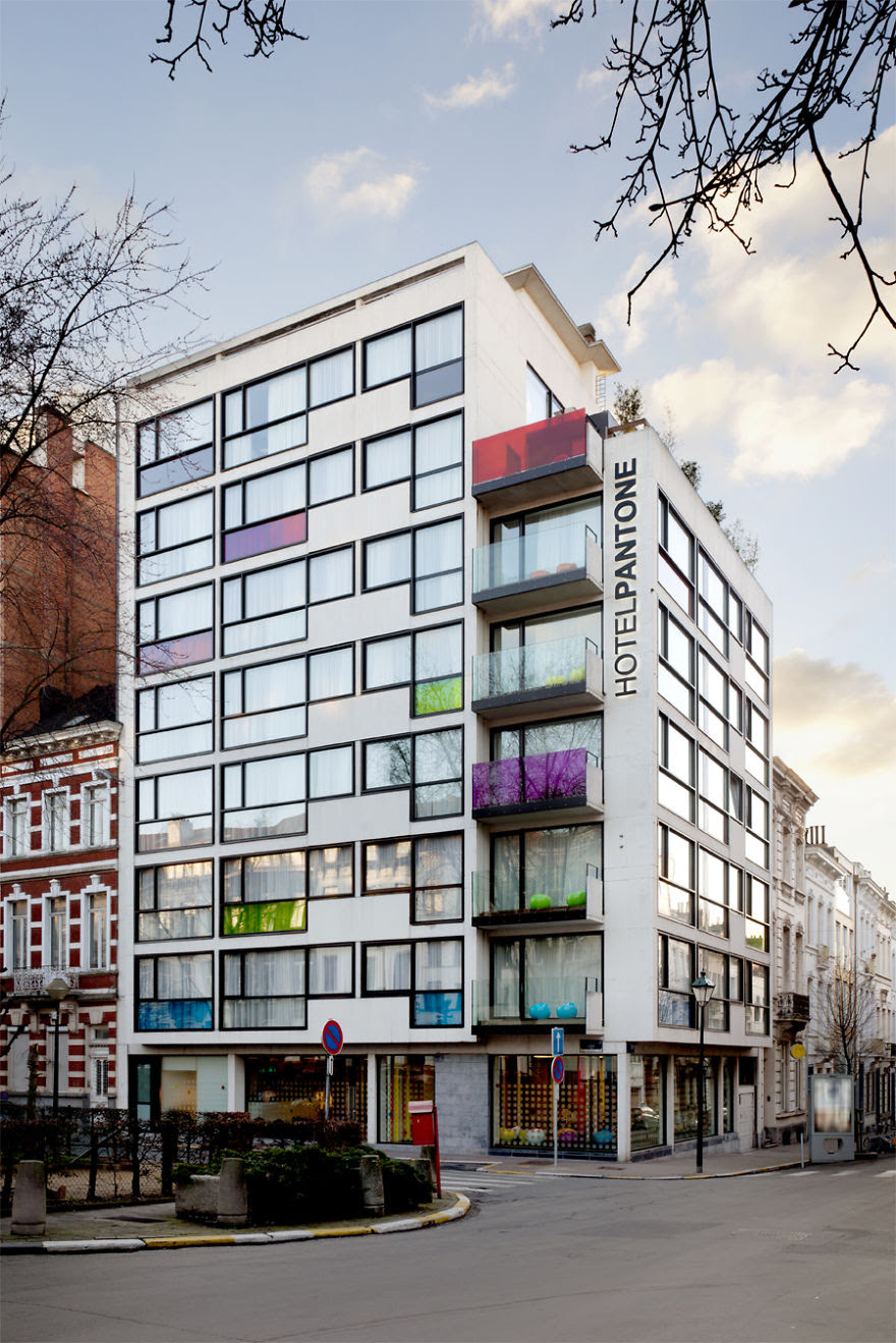 Pantone Hotel In Brussels