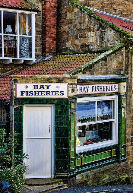 Robin Hood's Bay on the North Yorkshire Coast, Scarborough, UK