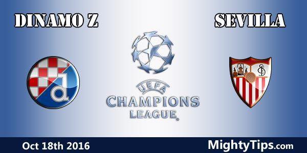 Resultado de imagem para Dínamo Zagreb x Sevilla a