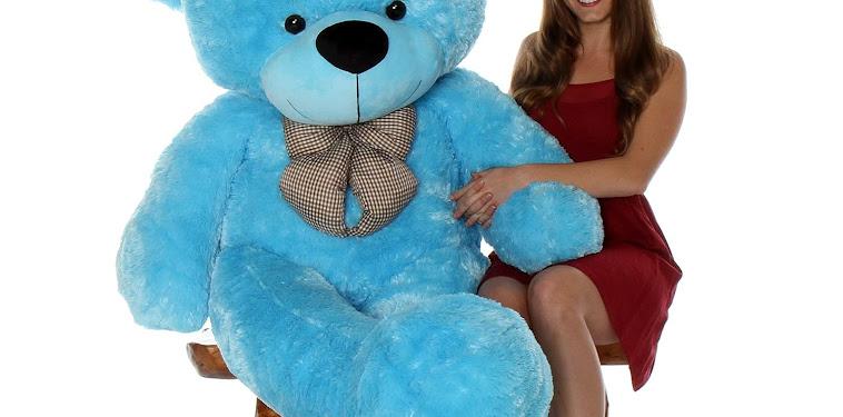 Blue Giant Teddy Bear