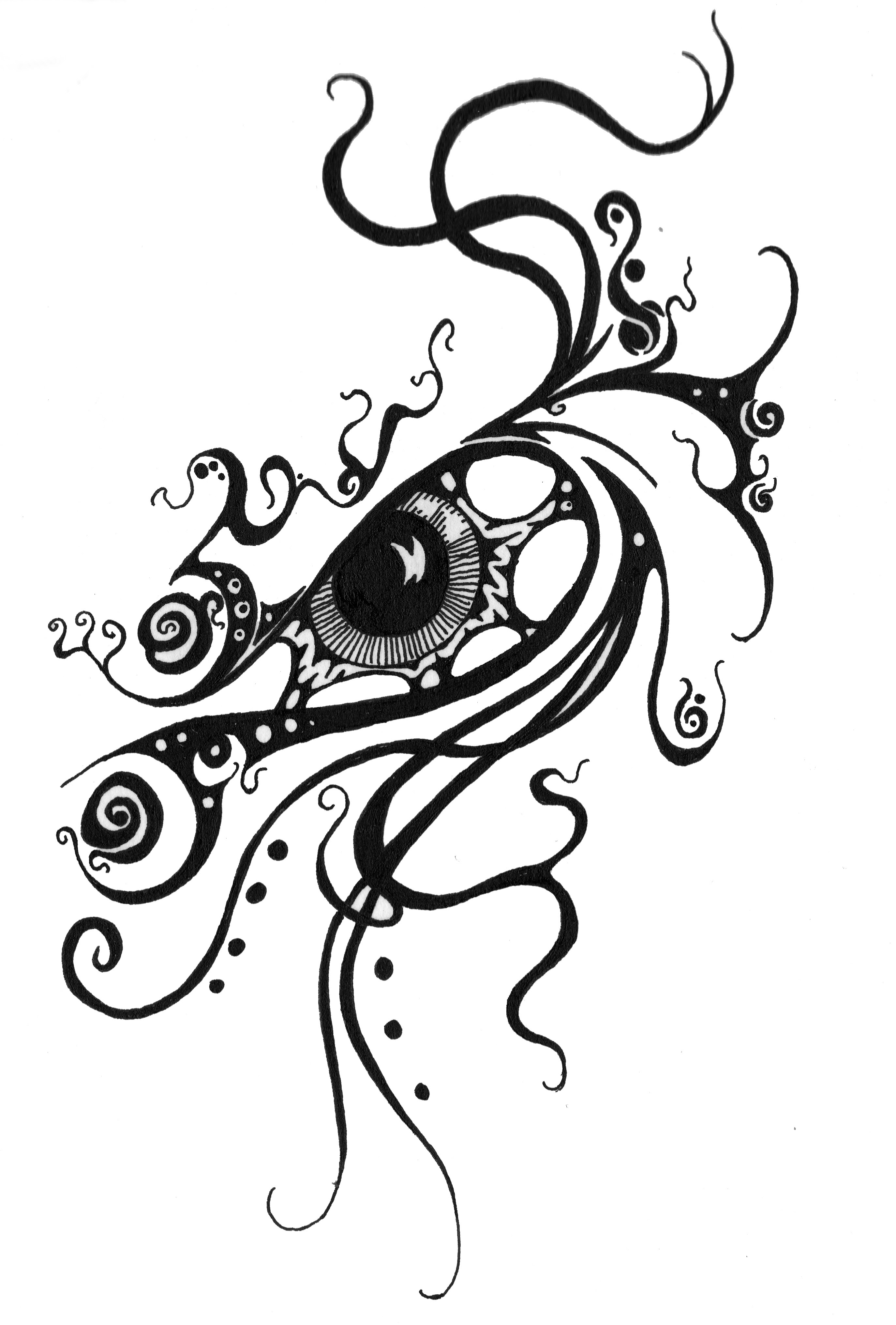All Seeing Eye Tattoo Drawing At Getdrawingscom Free For Personal