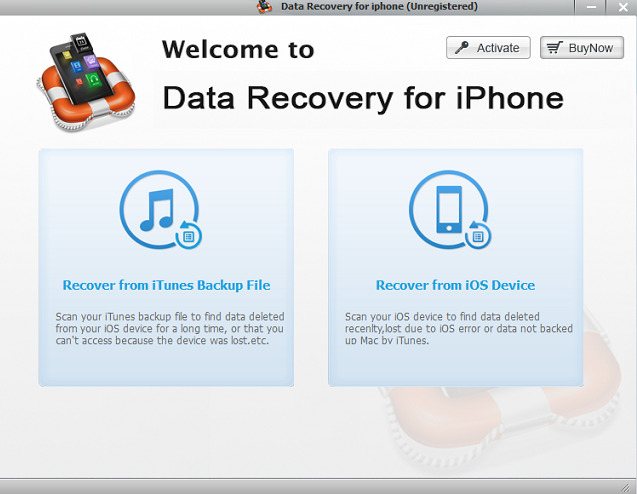 Recover Deleted Files from iPhone, iPad and iPod Touch 3 Best Tools