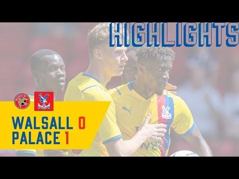 Highlights: Walsall 0 Crystal Palace 1