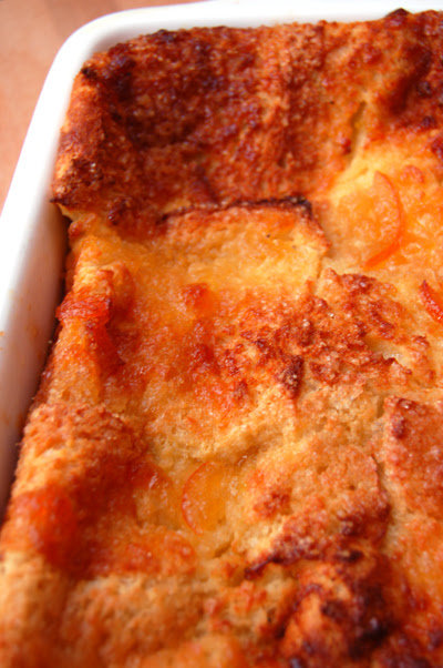 Bread and Butter Marmalade Pudding