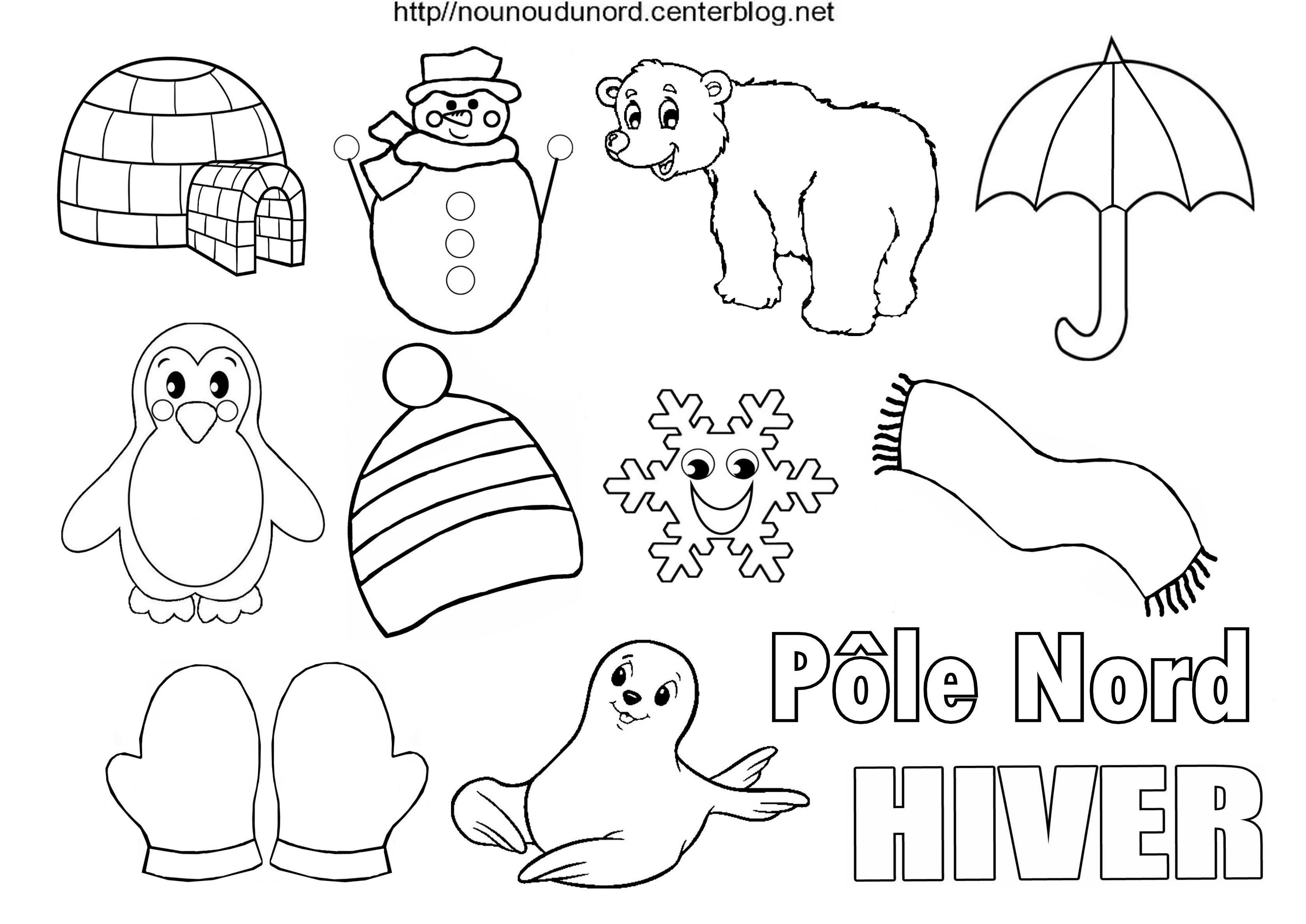 Frais Coloriage Pole Nord Imprimer Imprimer Et Obtenir Une