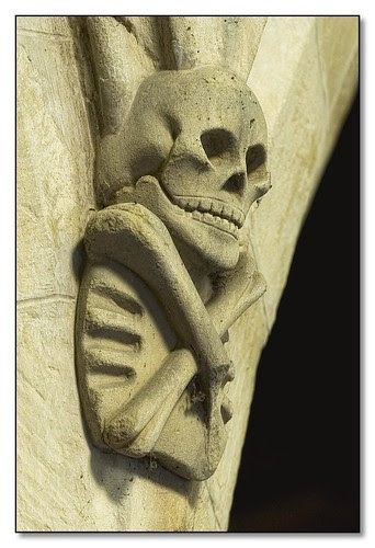 Skeleton Corbel, All Saints Church, Beeby, Leicestershire