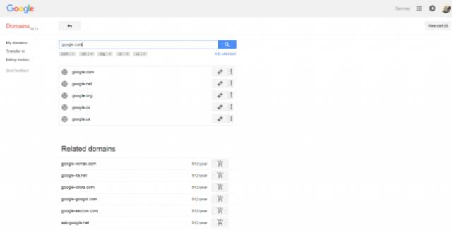 google dominio 4