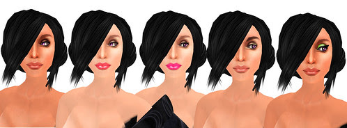 aemeth skins with different makeups