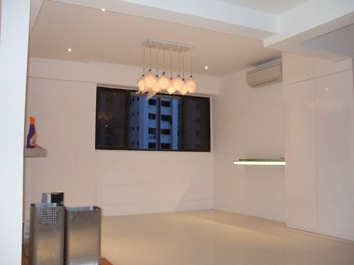 Hanging Lights in Horizontal Position