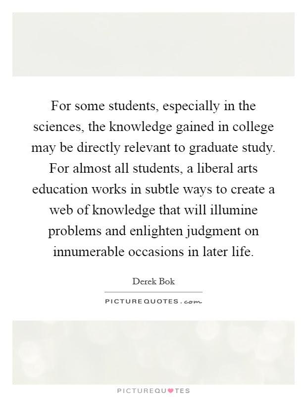 Liberal Arts Education Quotes Sayings Liberal Arts Education