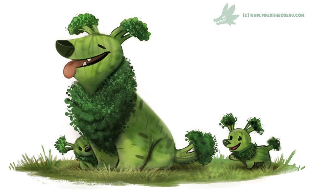 Broccollie by Crypid-Creations