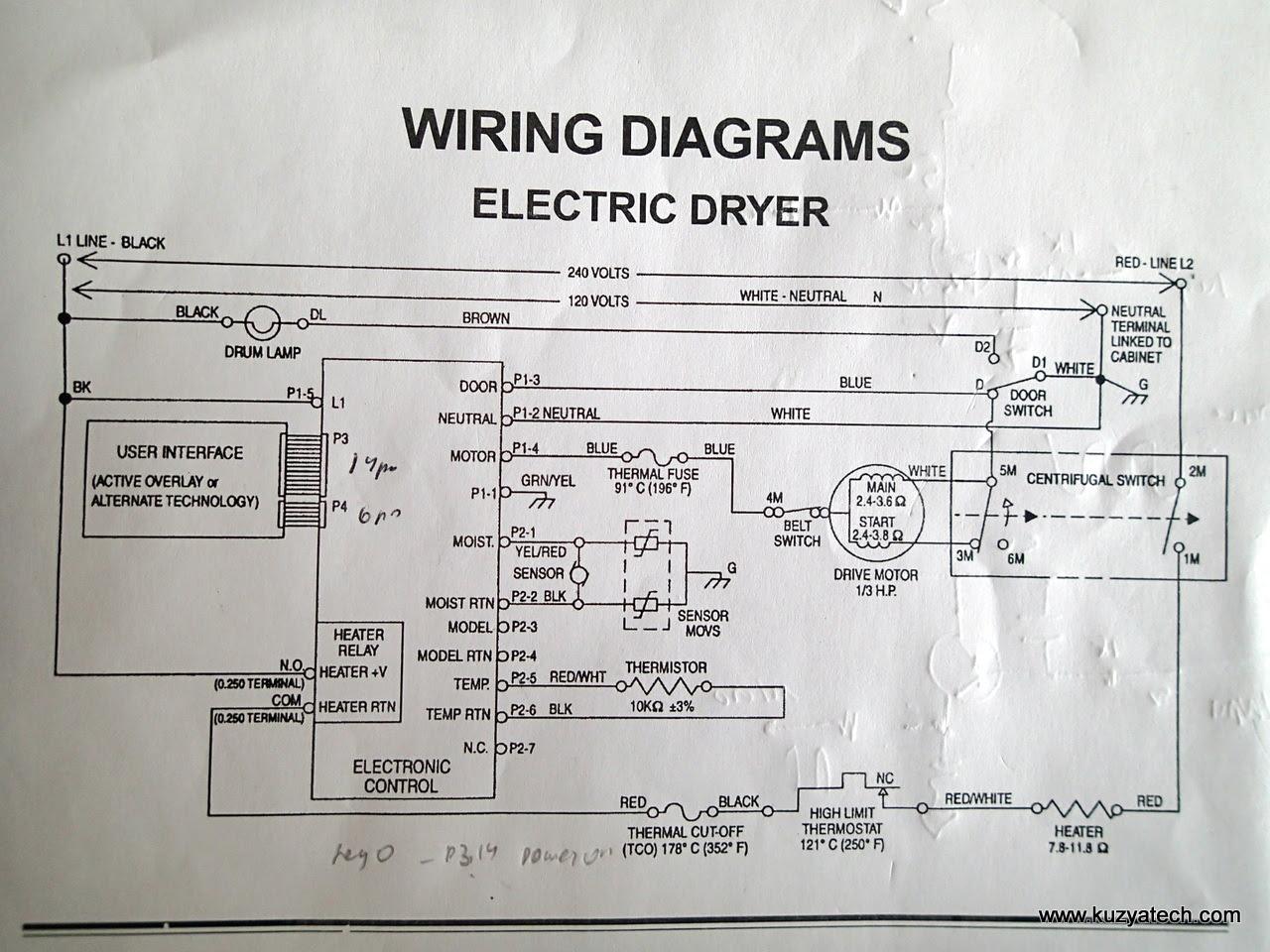 Dryer Schematic Wiring Diagram Wiring Diagram Nut Explorer A Nut Explorer A Pmov2019 It