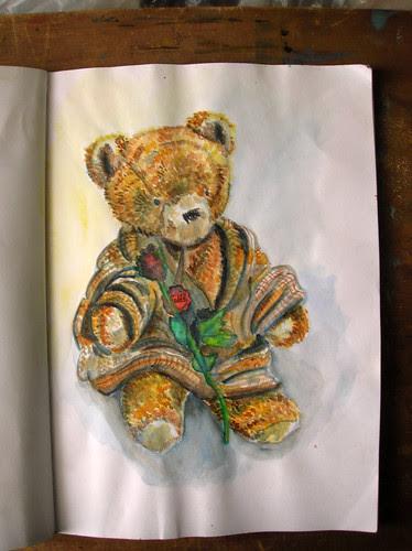 portrait2of a bear