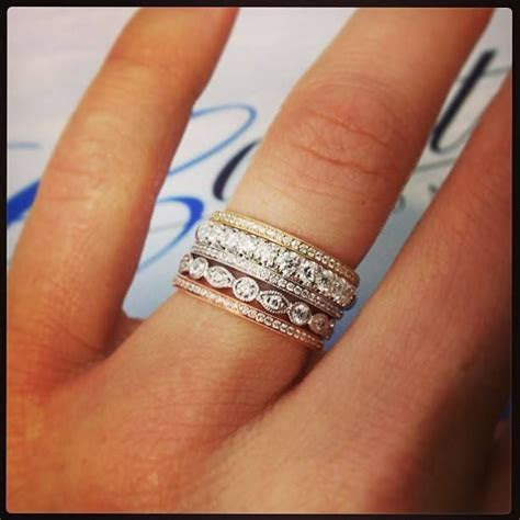 How To Wear Your Wedding Ring And Engagement Ring Together
