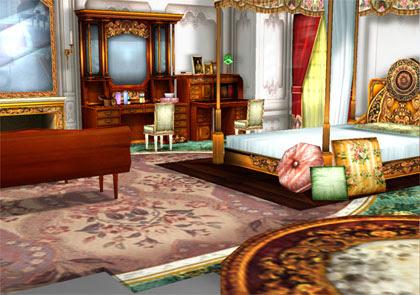 MMD Oriental Bedroom