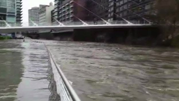 River Irwell in central Manchester