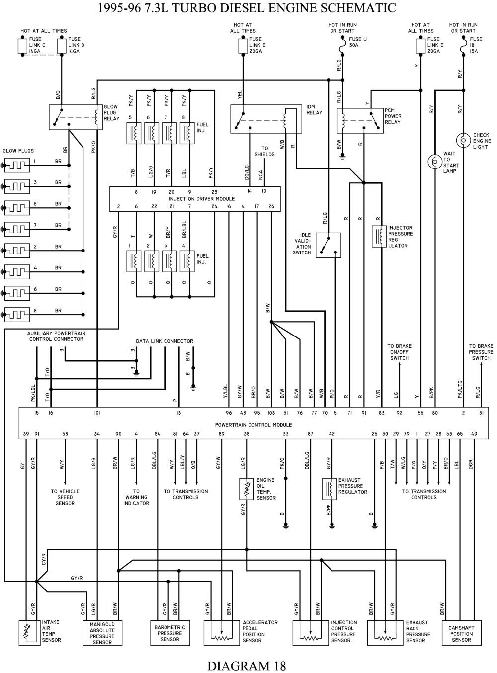 1990 F 350 Wiring Diagram