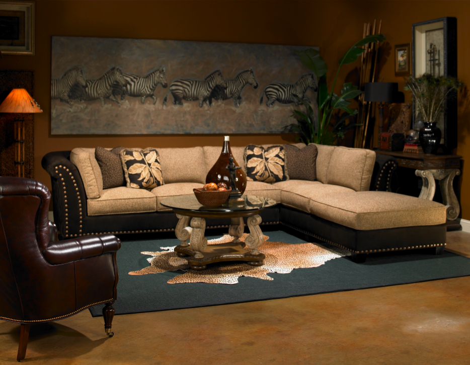Decorate your Living Room with an African Safari Interior Design