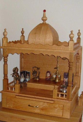 Pooja Room Pooja Room Decorationdecor With Wooden Accessories