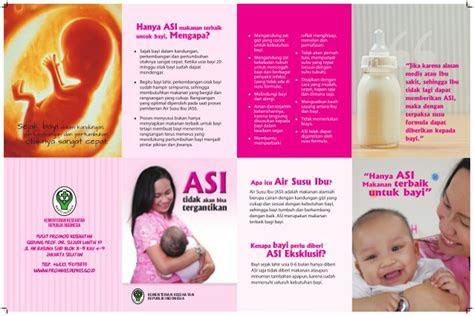 leaflet asi ekslusif promosi kesehatan