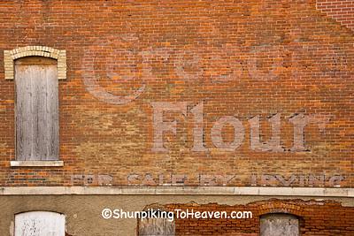 Ceresota Flour Ghost Sign, Cedar County, Iowa