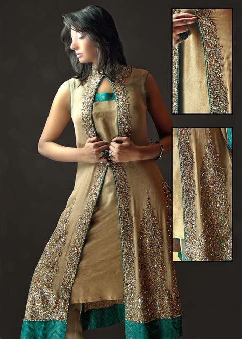 Pakistani silk dresses 2014   Just Bridal