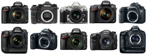 The Top 10 Best Full Frame DSLR Cameras on Earth   The