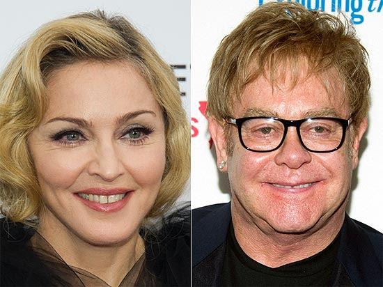 Elton John continua a alfinetar Madonna