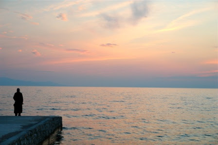 μοναχός θάλασσα