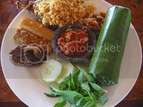 Nasi Timbel dari Bandung