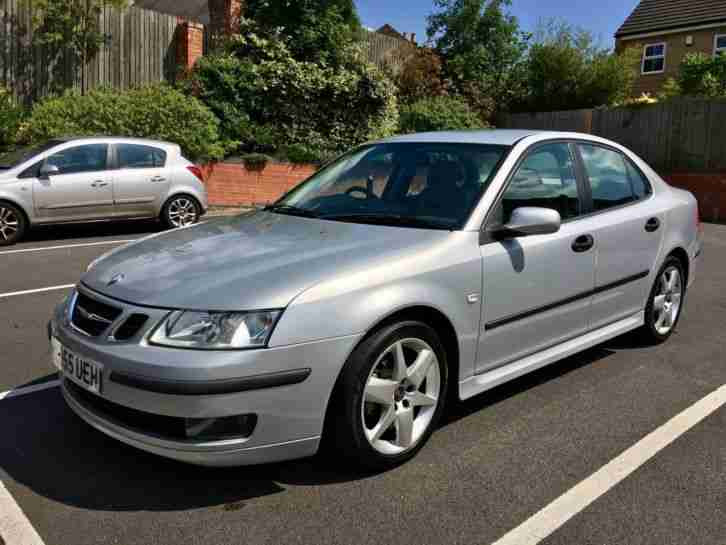 Saab 2006 9 3 VECTOR SPORT 1.9 TID SILVER ONLY 76K MILES