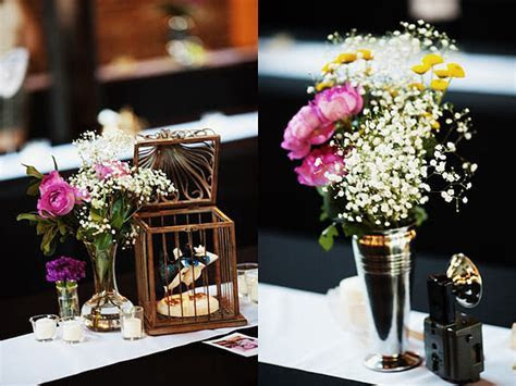 Charming vintage style wedding details   Decoist