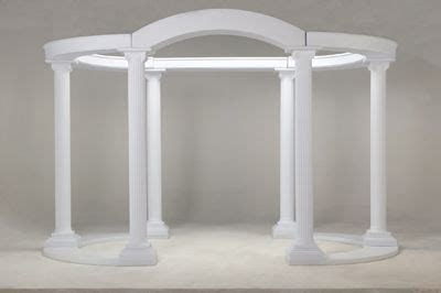 wedding columns and arches   home event decor wedding