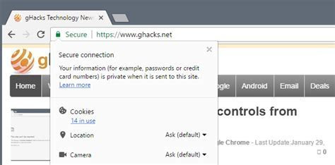 Google Chrome ? gHacks Technology News