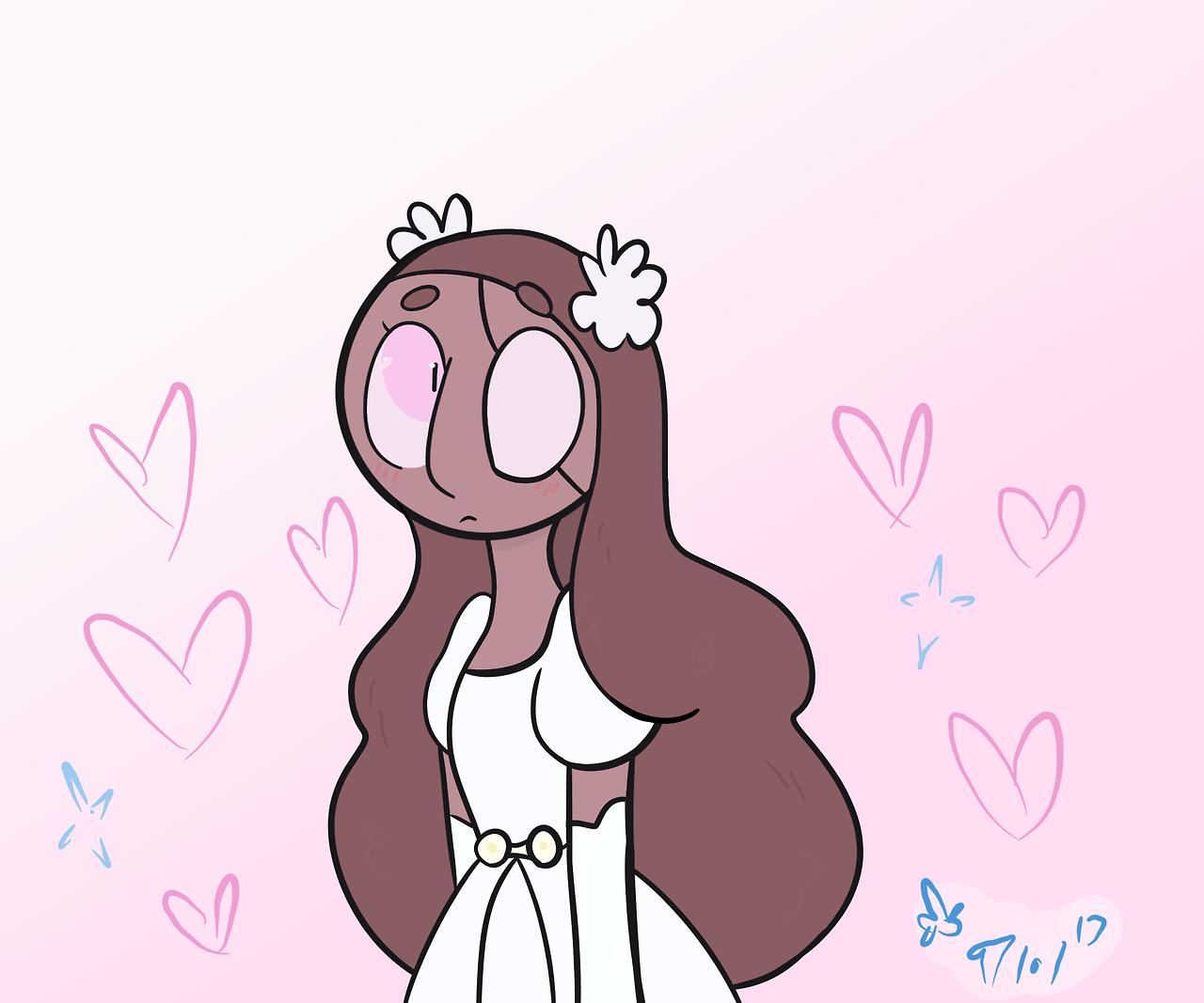 just a cute little Cloud Connie doodle ✨