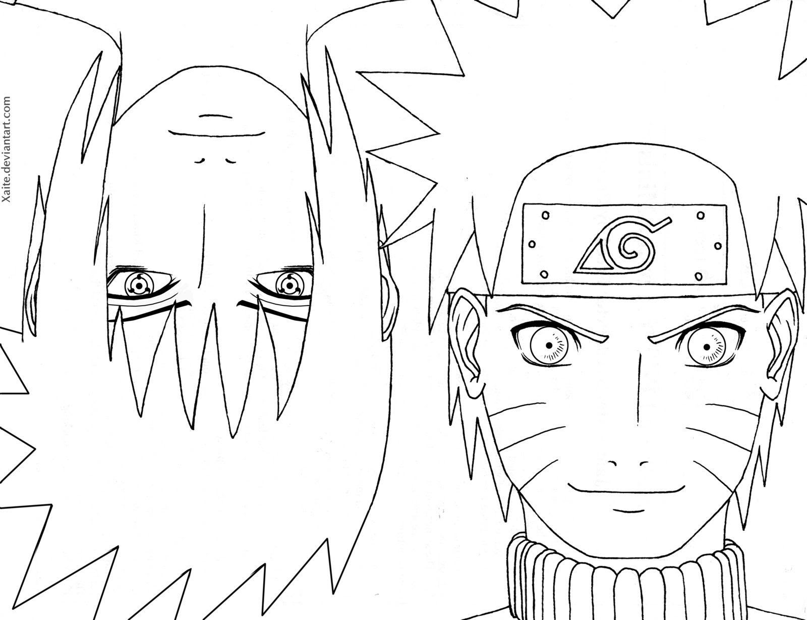 Naruto Shippuuden Coloring Pages Coloring Home