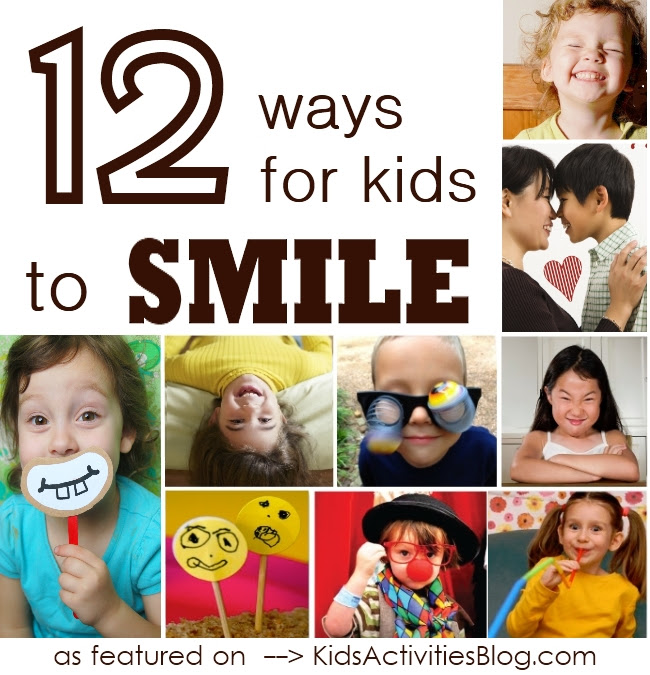 12 Awesome Ways How To Smile And Lots Of Silly Activities ...