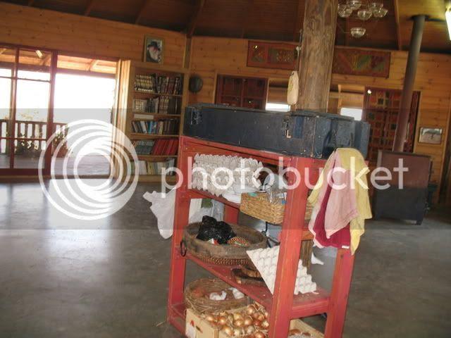 Dining Room in Avri Ran's Farm, Shomron Farm