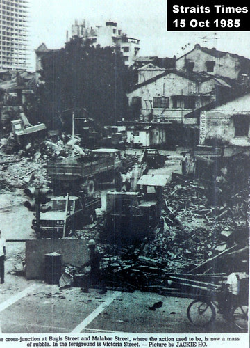 Bugis Street and Malabar Street