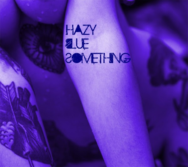 Hazy Blue Something - The Devil In Me Single Cover