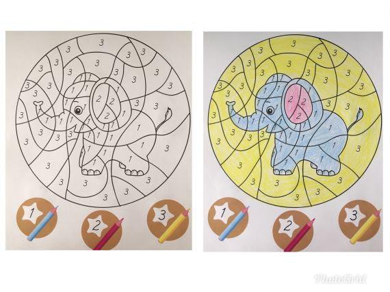 Rakamlarla Boyama çıkan Resmi Tanıma Eğitim Bilişim Ağı