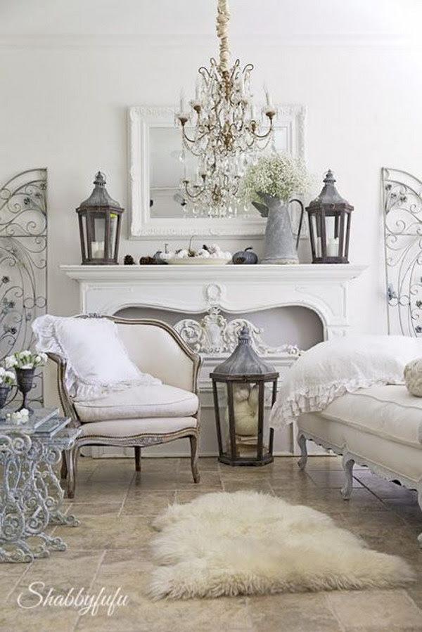 Romantic iShabbyi iChici Living Room iIdeasi Noted List