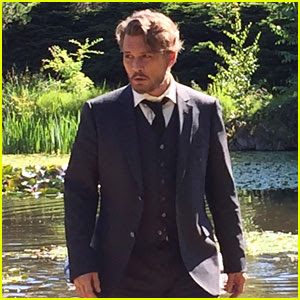 Johnny Depp in 'Richard Says Goodbye' - First Look Photo!