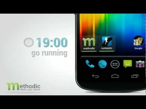 Methodic 智慧型捷徑依時間情境自動替換手機桌面App