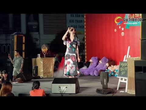 Công chúa Lâm Khánh Chi xinh xắn hát và CHÚC MỪNG NĂM MỚI 2020 tại lô tô Sài Gòn Tân Thời