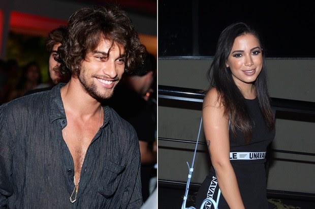 Pablo Morais e Anitta (Foto: Ari Kaye / Divulgação | Marcello Sá Barreto / AgNews)