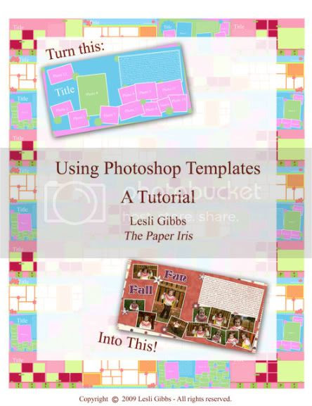 How to Use a Photoshop Template