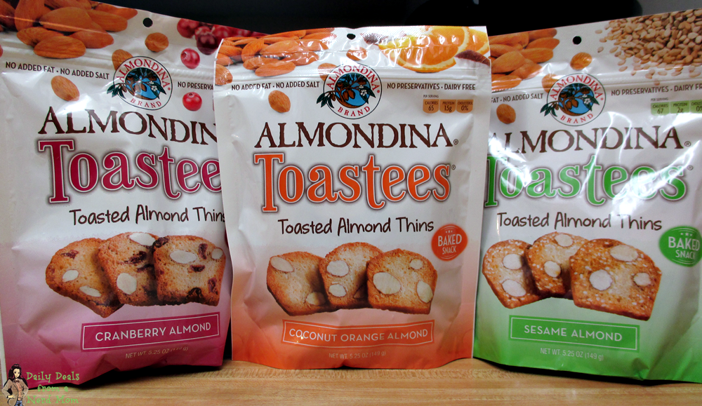 Almondina Toastees - The Delicious Cookie Without the Guilt!