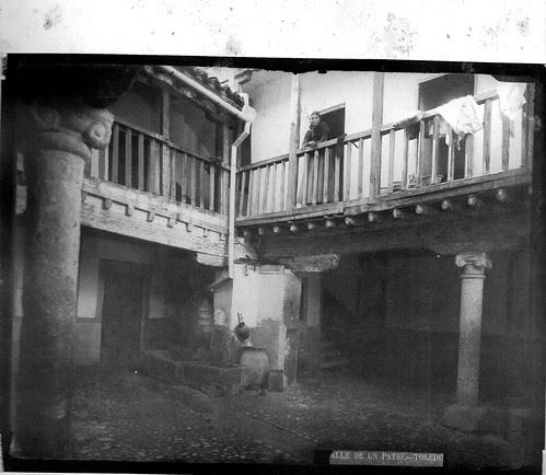 Posada de la Sangre en el Siglo XIX. Foto Casiano Alguacil