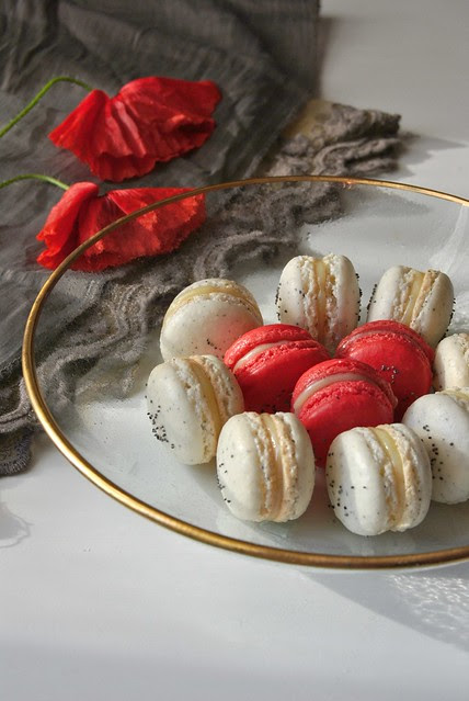 Poppy Seed Macarons